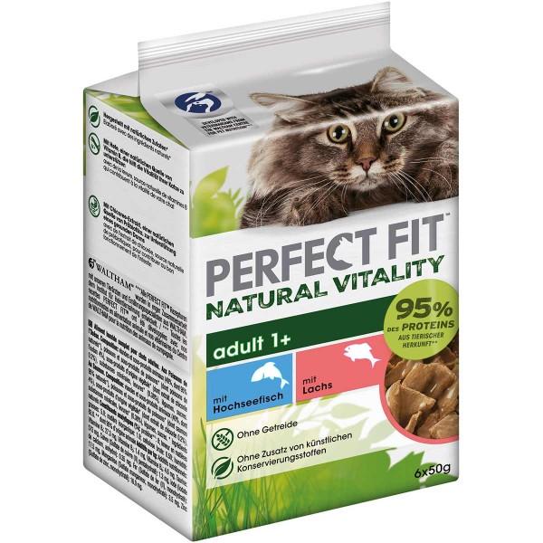 PERFECT FIT Katze Natural Vitality Adult 1+ mit Hochseefisch und Lachs