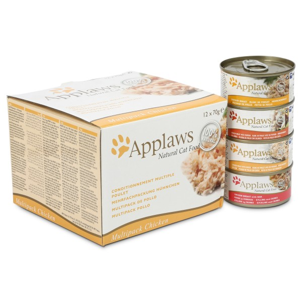 Applaws Cat Chicken Collection 12x70g