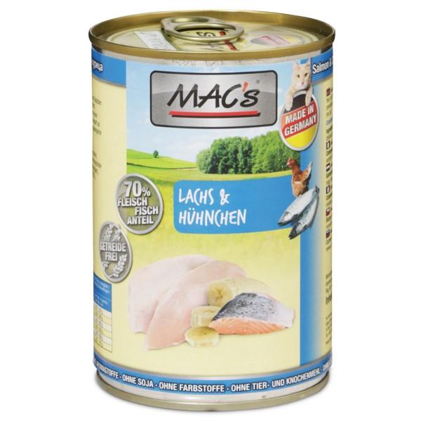 MAC's Cat Katzenfutter mit Lachs & Hühnchen