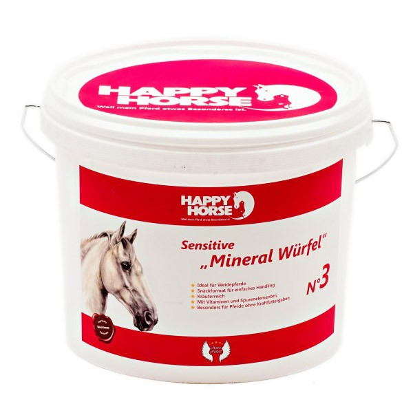 Happy Horse Sensitive Mineral Würfel