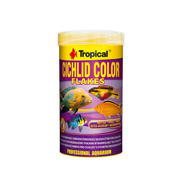 Tropical Fischfutter Cichlid Color