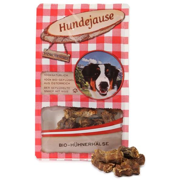 Hundejause Hundesnack Bio JausenHälse 150g