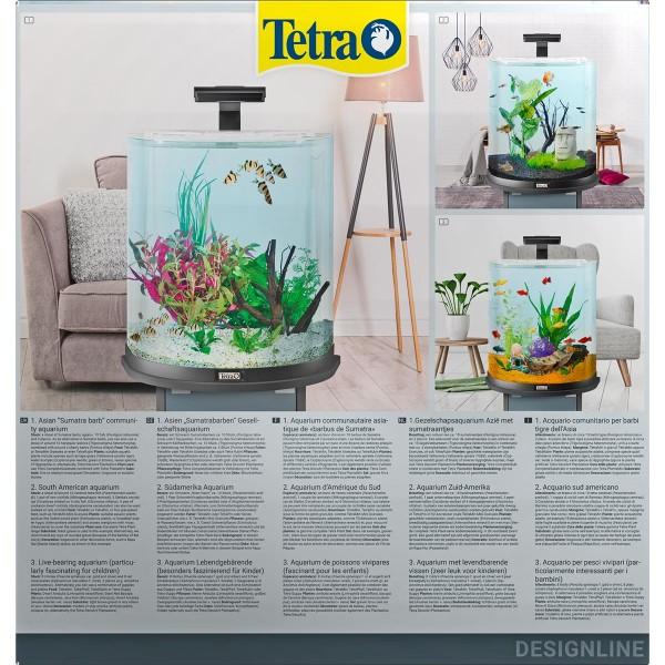 Tetra AquaArt Explorer Line Halfmoon Komplett-Set 60l