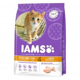 IAMS Katze Trockenfutter Kitten & Junior Huhn