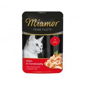 Miamor Feine Filets Huhn in Tomatenjelly im Frischebeutel