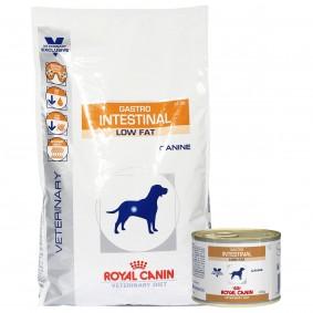 Royal Canin Vet Diet Gastro Intestinal Low Fat LF 22 6kg+12x200g