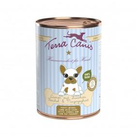 Terra Canis für Welpen Lamm mit Zucchini, Fenchel und Magerjoghurt