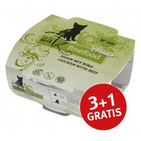 Catz finefood Mousse N°205 100g 3+1 gratis