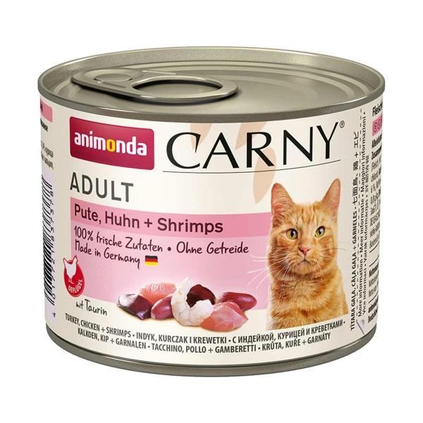 Animonda Carny Adult Pute, Huhn & Shrimps