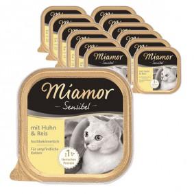 Miamor Sensibel Huhn & Reis 16x100g