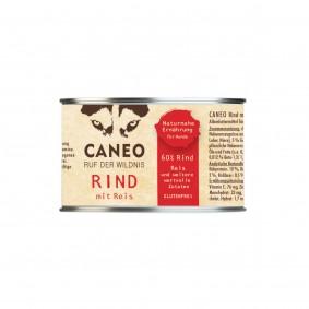 Caneo Rind mit Reis und Leinöl 200g