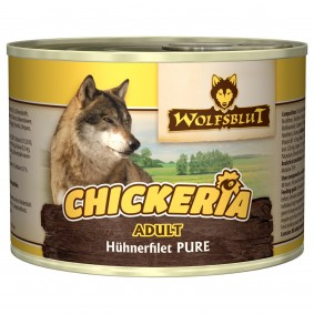 Wolfsblut Chickeria Adult Pure kuřecí filet