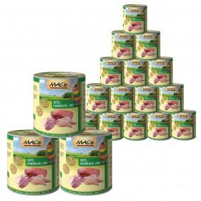 Großkmehlen Angebote Pro Pet Mac´´s Cat Katzenfutter Fleischmenüs verschiedene Sorten 18x800g - Ente, Kaninchen & Rind