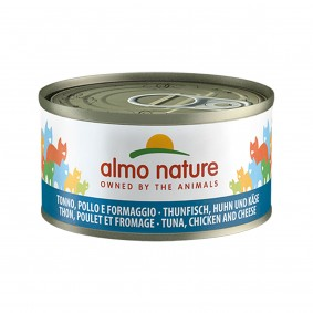 Almo Nature Cat Megapack Thunfisch, Huhn und Käse