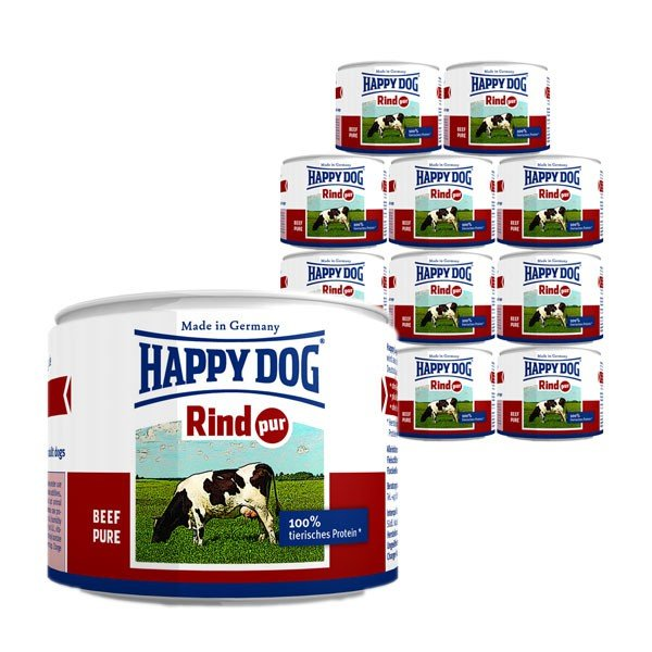 Happy Dog Rind Pur 12x200g