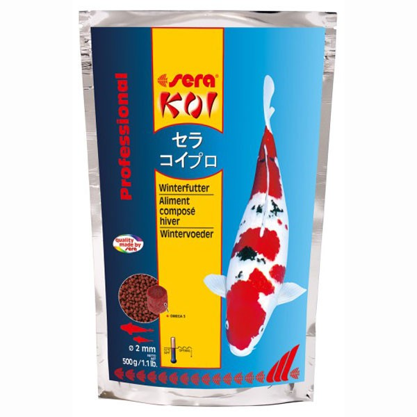 Sera KOI Professional Winterfutter 500g