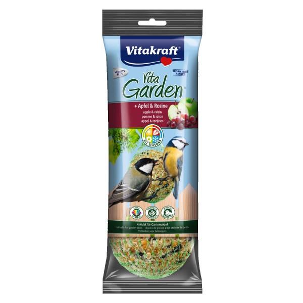 Vitakraft Vogelfutter Vita Garden Knödel mit Apfel & Rosine