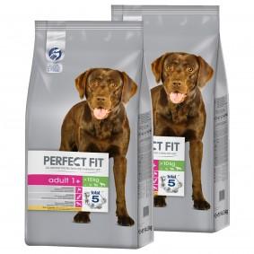 Perfect Fit Adult 1+ für mittlere und große Hunde reich an Huhn