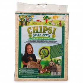 Chipsi plus Green Apple Heimtiereinstreu