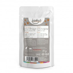 Katzy's Nassfutter Bio Rind mit Karotte und Hirse