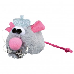 Trixie Katzenspielzeug Mäuse Bräutigam Plüsch 5cm