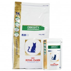 Royal Canin Vet Diet Obesity Management DP 42 3,5kg + 12x100g