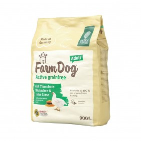 Green PetfoodFarmDog Active grainfree