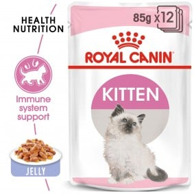 Royal Canin Kitten Instinctive in Gelee 48x85g
