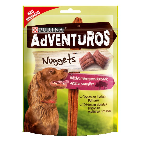 AdVENTuROS Hundesnack Nuggets 90g