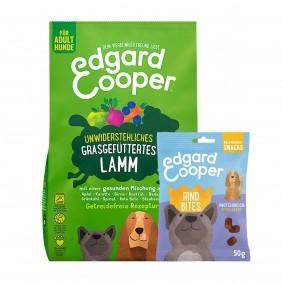 Edgard & Cooper Frisches Weidelamm 12kg + 50g Bites Rind gratis