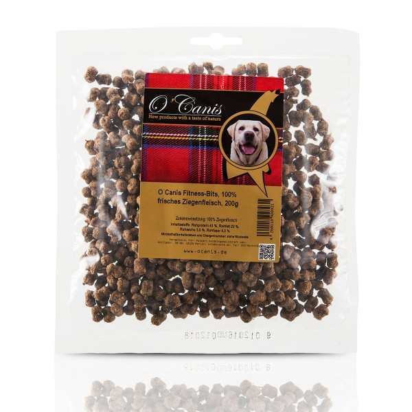 O'Canis Hundesnack Fitness-Bits Ziegenfleisch 200g