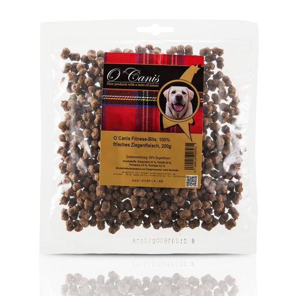 O'Canis Hundesnack Fitness-Bits Ziegenfleisch 200g