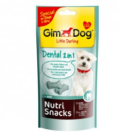 GimDog Hundesnack Nutri Snacks Dental 2in1 40g