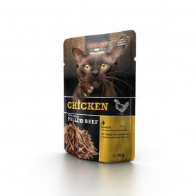 Leonardo Chicken + extra pulled Beef