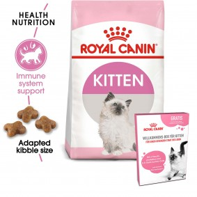 ROYAL CANIN Feline Health Nutrition Kitten 2kg + ROYAL CANIN Willkommens-Box Kitten