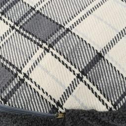 Aumüller Schmusekissen Highland Grey mit Reißverschluss