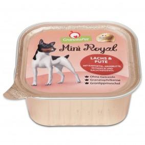 GranataPet Mini Royal s lososem a krůtím masem