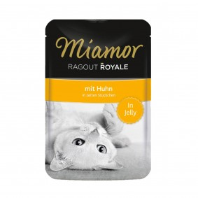 Miamor Ragout Royale in Jelly Huhn