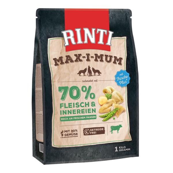 Rinti Hundetrockenfutter Max-i-mum Pansen