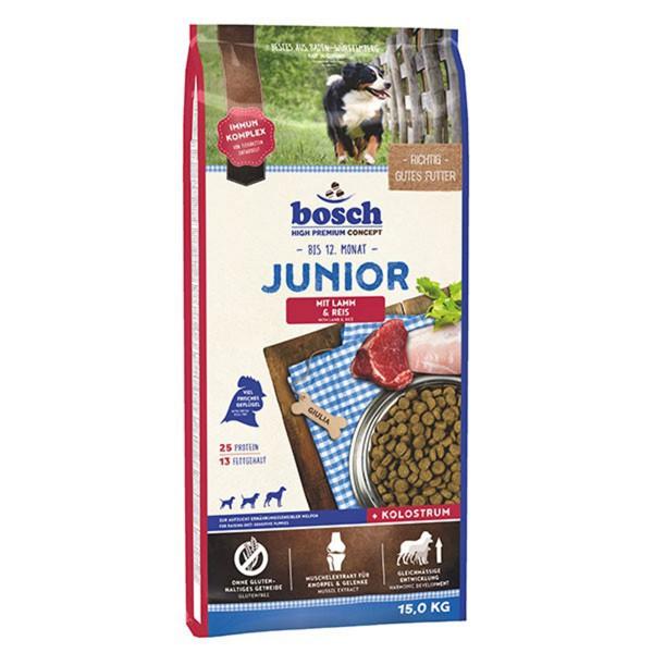 Bosch Hundefutter Junior Lamm & Reis - 15kg