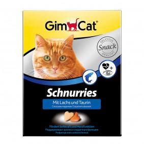 GimCat Schnurries Lachs und Taurin