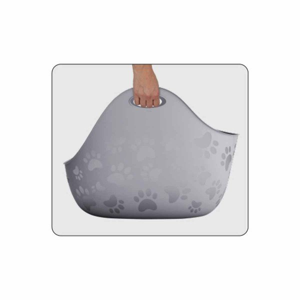 LitterLocker® Katzentoilette LitterBox weiß