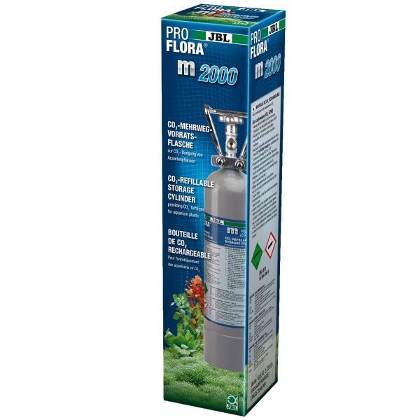 JBL CO2-Vorratsflasche ProFlora m500 silver
