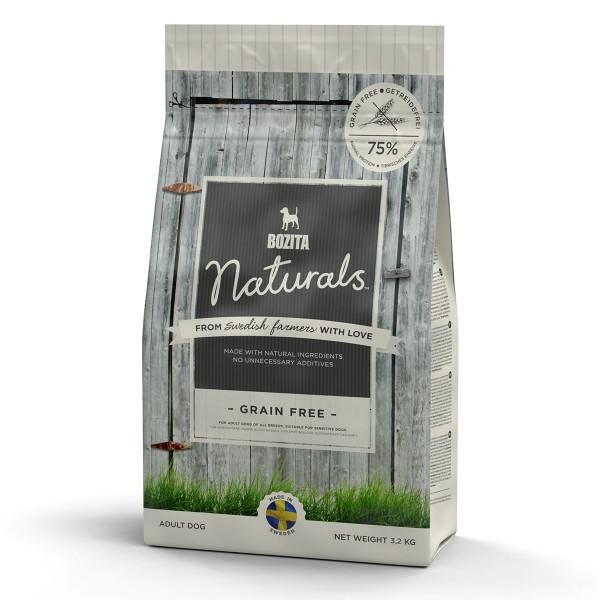 Bozita Hunde-Trockenfutter Naturals Grain free