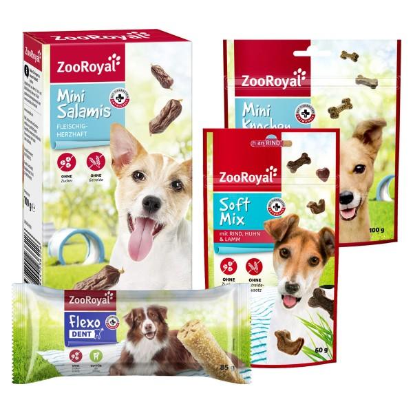 ZooRoyal Hundefutter Snack Paket