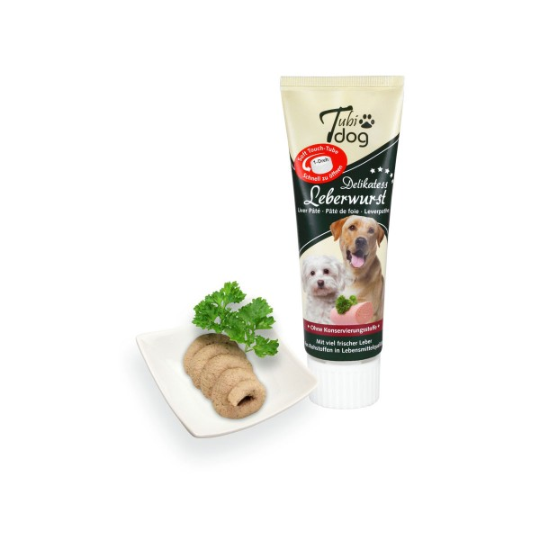 Hansepet Tubidog Hundesnack Leberwurst