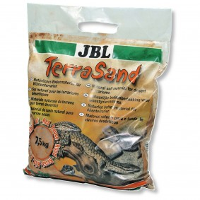 JBL TerraSand Sable pour terrarium - 7,5 kg - rouge