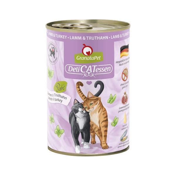 GranataPet Katze - Delicatessen Dose Lamm & Truthahn