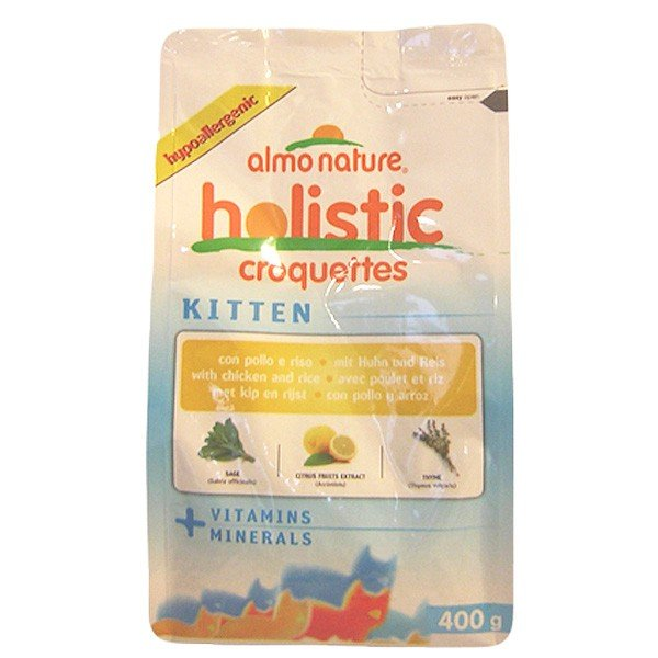 Almo Nature Holistic Cat Kitten - Au poulet et au riz