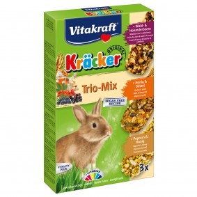Vitakraft Kräcker Trio Waldbeere Honig Popcorn 3 Stück